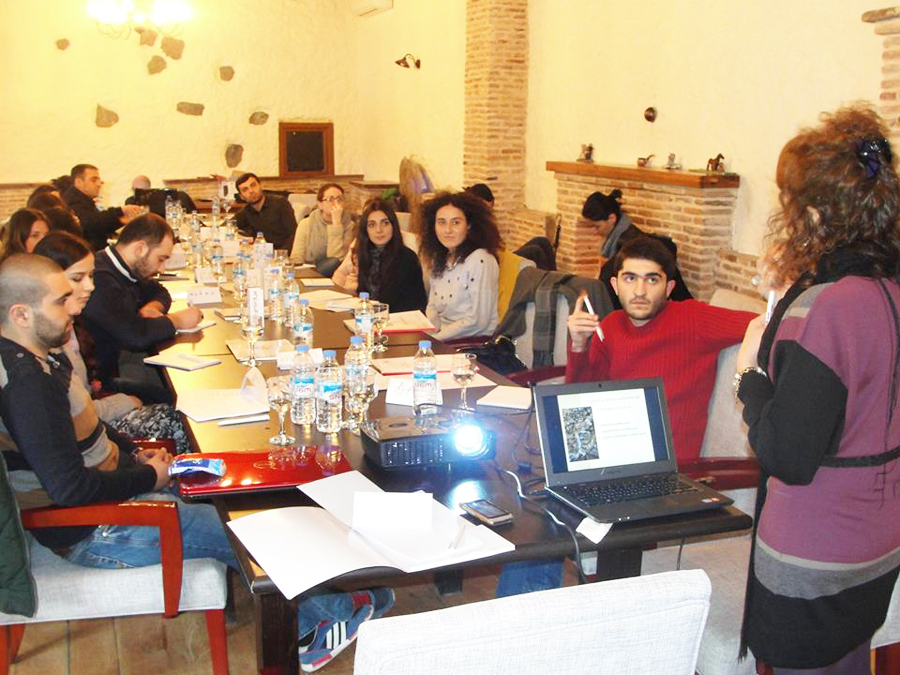 "Students' Workshop in Lopota Resort in ""Effective Presentation Techniques"" 22/23 Fabruary. 2014 / Lopota, Georgia"