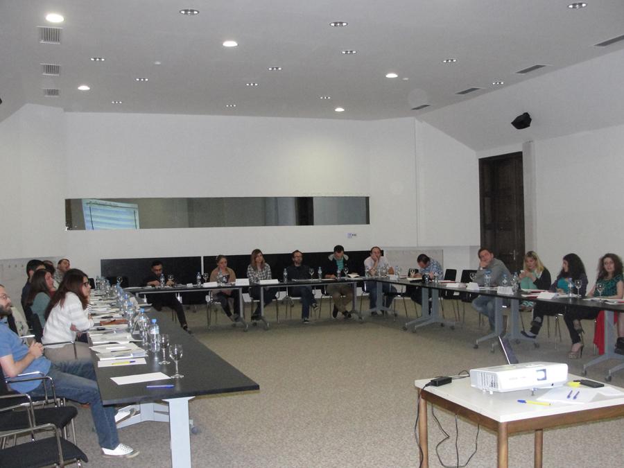 """Students' Workshop in Gudauri in """"Negotiation Methods"""" 29/30 June. 2013 / Gudauri Georgia"""