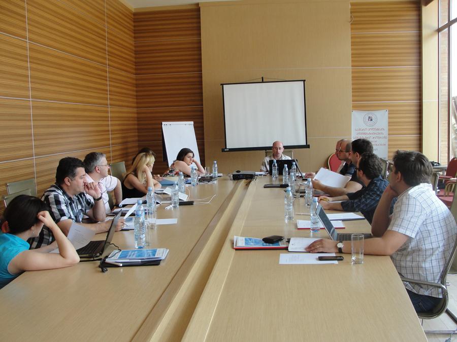 Professors' Workshop in Kachreti 13/14 July. 2013 / Kachreti, Georgia
