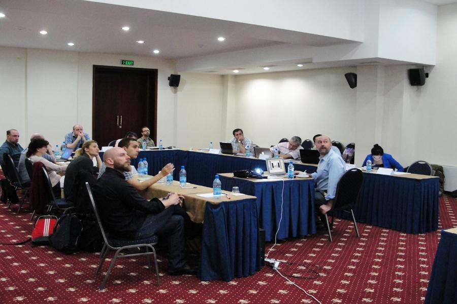 """""""Professors' Workshop in Bazaleti"""" Teaching Workshop 31 May / 1 June. 2014 / Bazaleti, Georgia"""