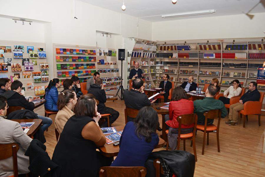"""Cases in Public Administration"" Presentation of the Book 13 March. 2014 / Tbilisi, Georgia ISU - Bookstore ""Ligamus"""