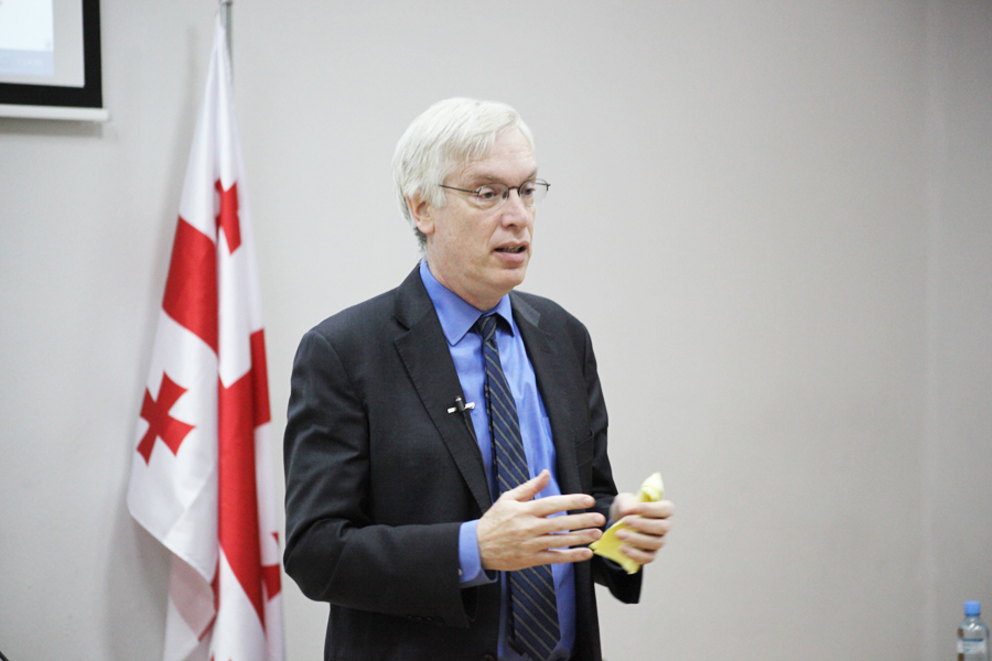 """Public Lecture - Professor Michael Sparer The Affordable Care Act (""""Obamacare"""") Implications of Recent US Healthcare Policy Reform December 9, 2013 / Tbilisi, Georgia"""