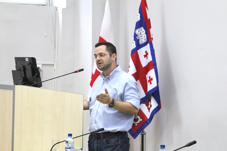 """""""Origins of the Modern state: An Analytical Approach to Understanding Democracy and Dictatorship"""" Speaker: David S.Siroky, Assistant Professor at Arizona State University 19.06.2013 / Tbilisi Georgia"""
